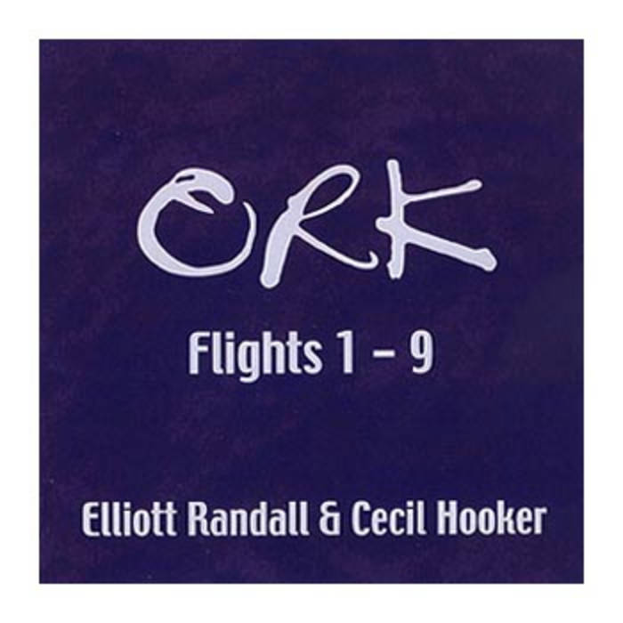ORK Flights 1 -- 9,  featuring Cecil Hooker cover art