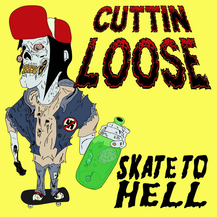 Skate To Hell EP cover art