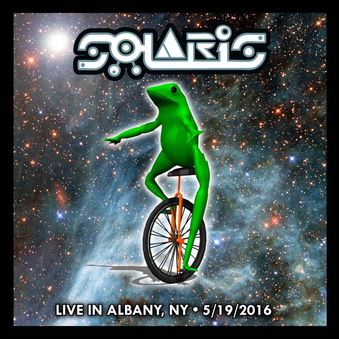 SOLARiS - 5/19/16 - Albany NY cover art