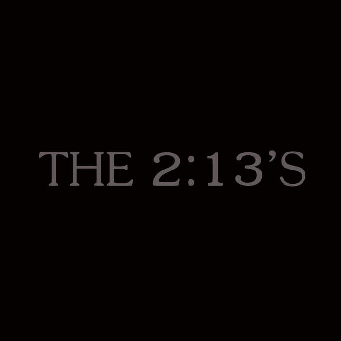 The 2:13's EP cover art