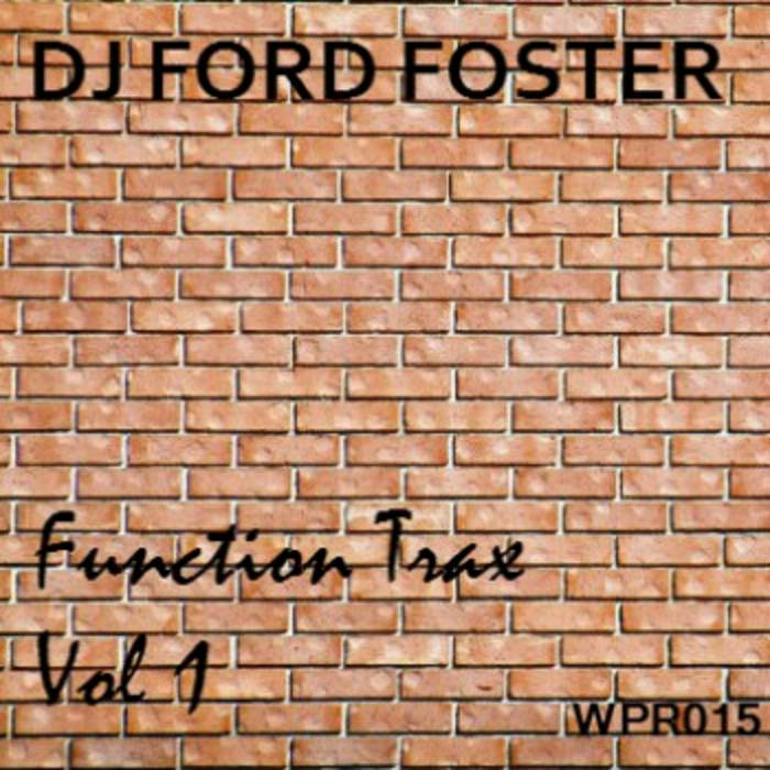 Function Trax Vol 1 WPR015 cover art