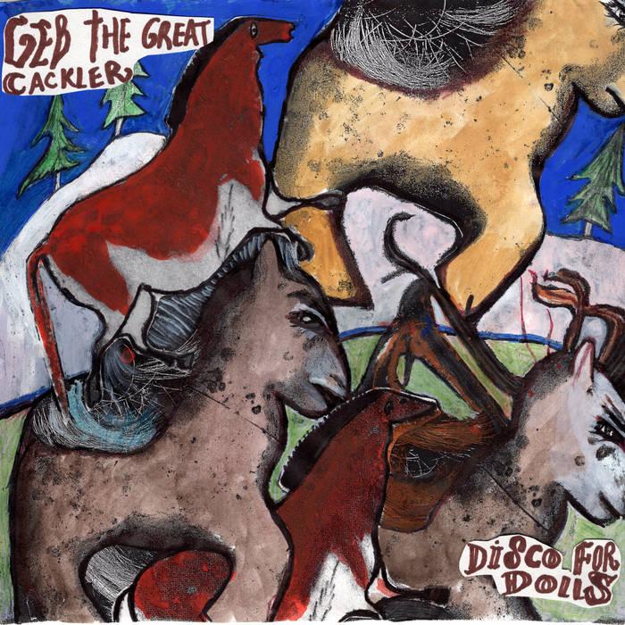 DISCO FOR DOLLS (2016) cover art