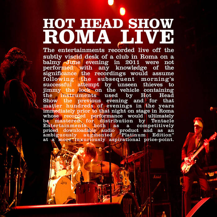 ROMA LIVE EP cover art