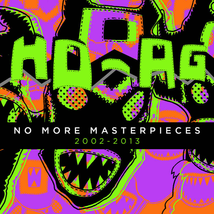 No More Masterpieces (2002 - 2013) cover art