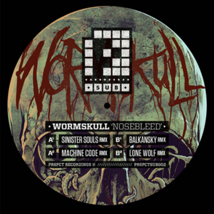 PRSPCT SUB002 - Wormskull Remixes cover art