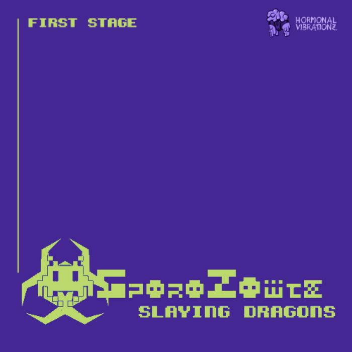 [HVZ003] SporoZoïte - Slaying Dragons cover art