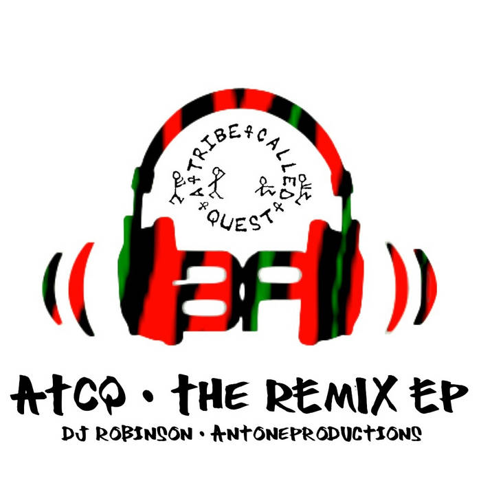 ATCQ: The Remixes EP cover art