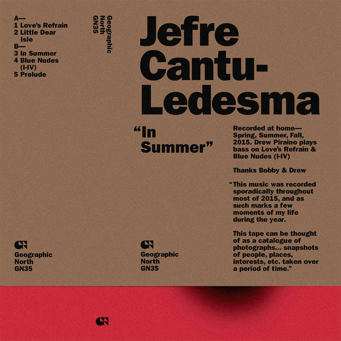 In Summer cover art