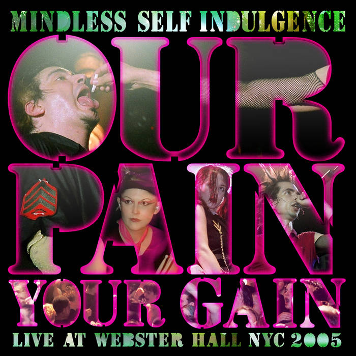 Our Pain Your Gain cover art