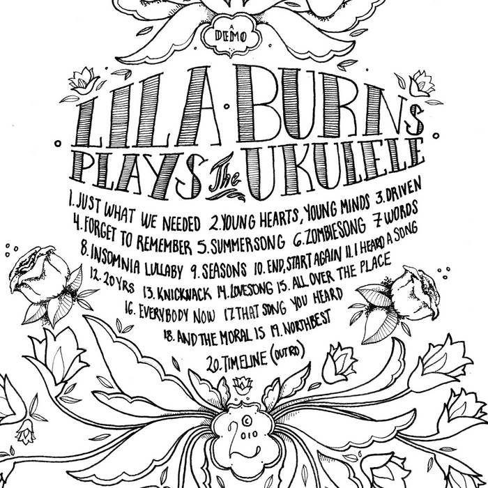 Lila Burns plays the Ukulele (Demo) cover art