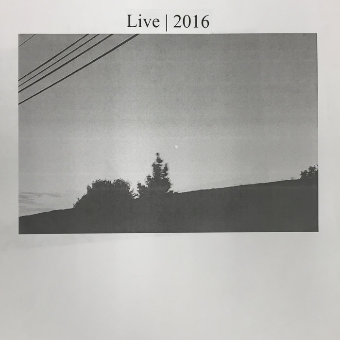 Live | 2016 cover art