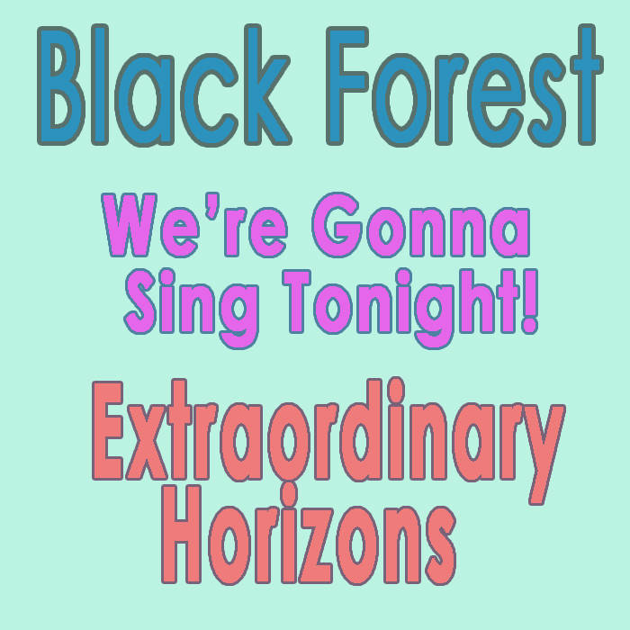 We're Gonna Sing Tonight ft. Extraordinary Horizons cover art