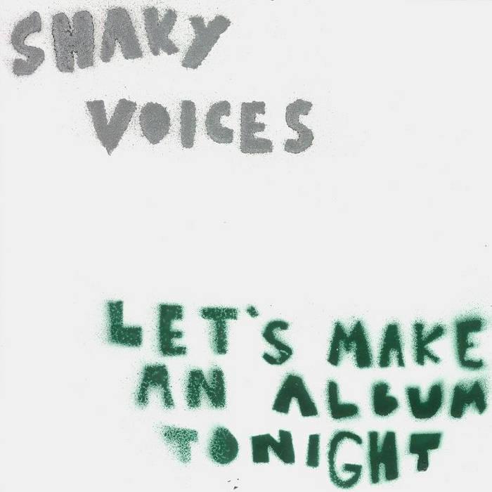 Let's Make an Album Tonight cover art