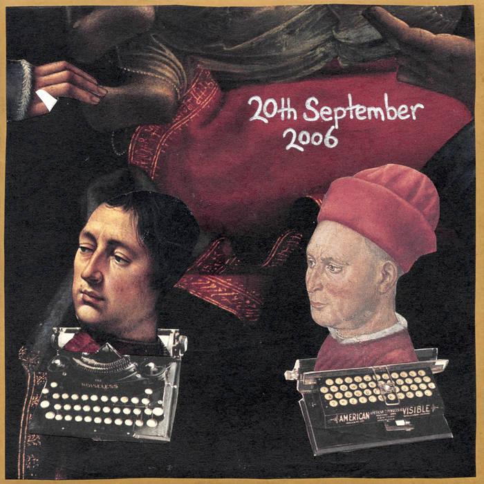 20th September 2006 cover art