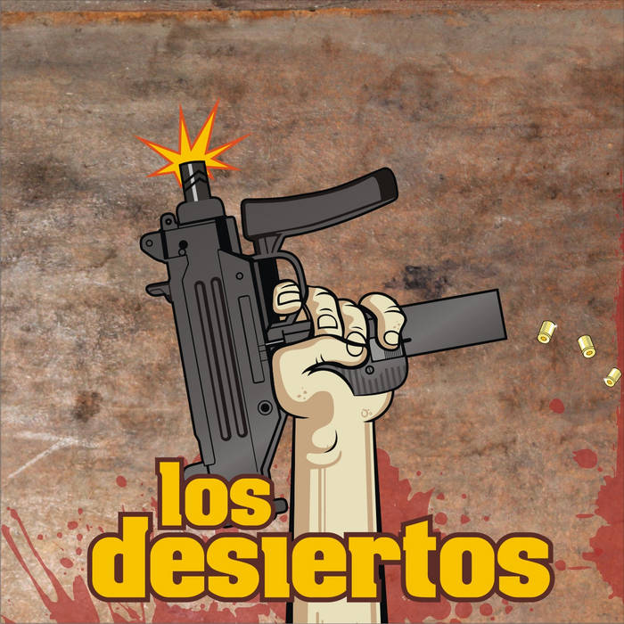 Los Desiertos  Re-edit cover art