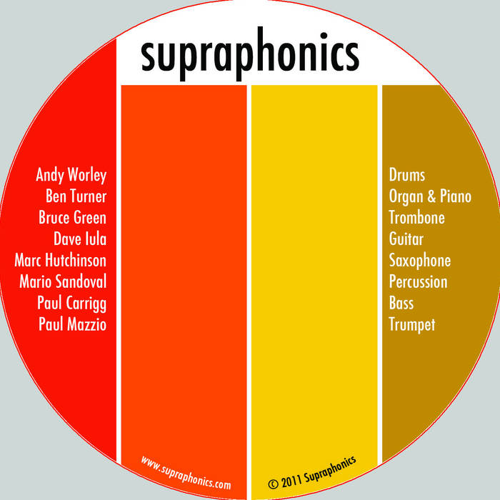 Supraphonics cover art