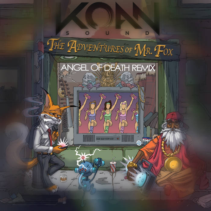 Sly Fox (Angel of Death Remix) cover art