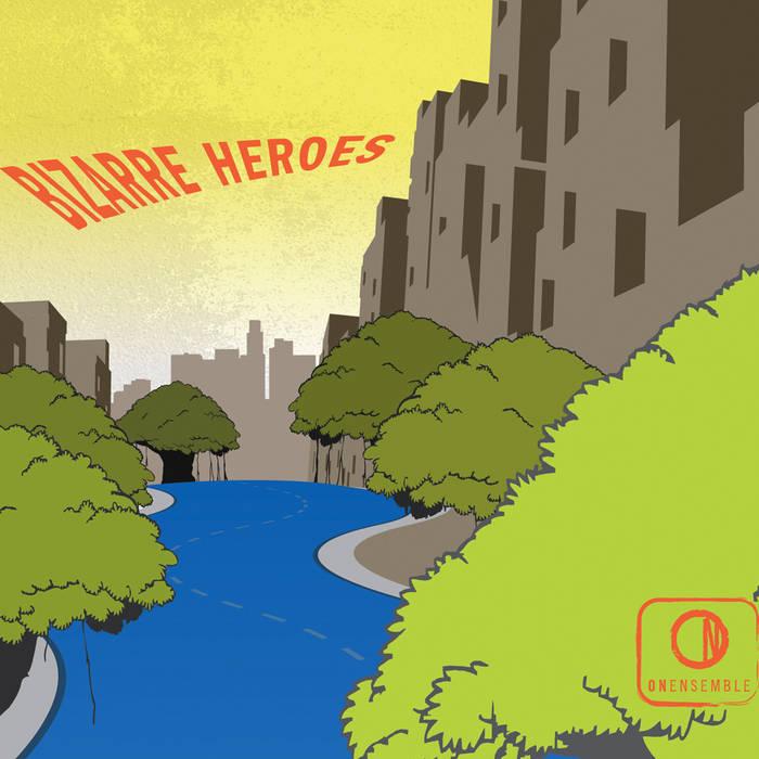 Bizarre Heroes cover art