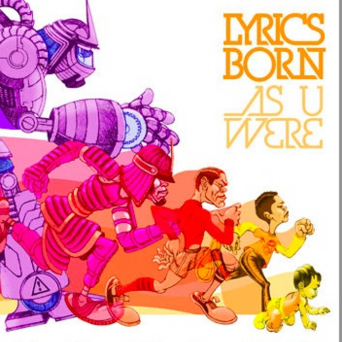 EXCLUSIVE FREE DOWNLOAD from Lyrics Born cover art