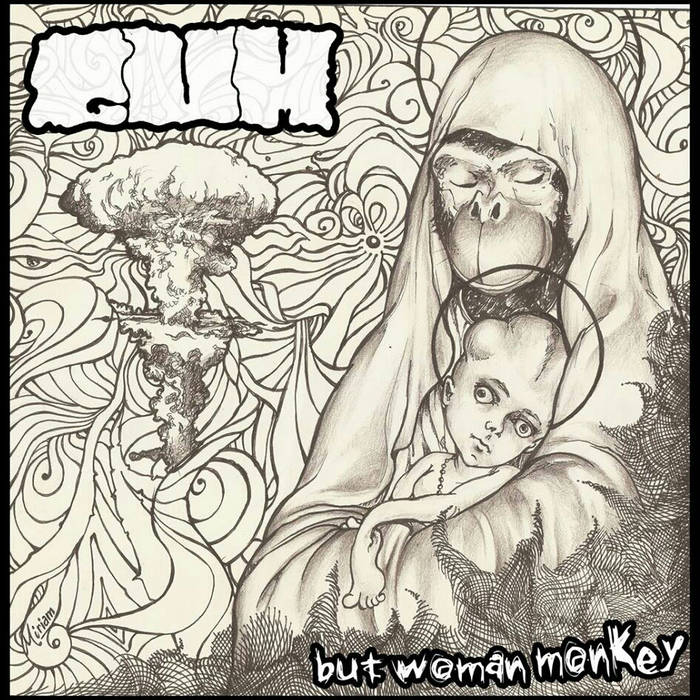 "GUM - BUT WOMAN MONKEY ""214 New Album"" cover art"
