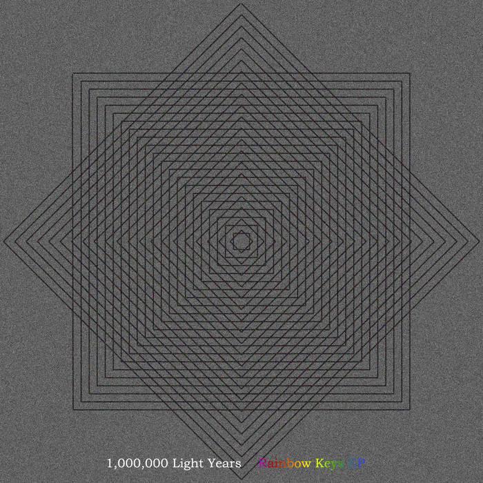Rainbow Keys EP cover art