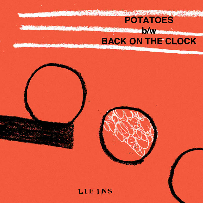 Potatoes b/w Back on the Clock cover art