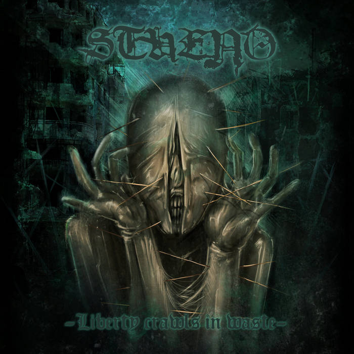 Liberty crawls in waste cover art