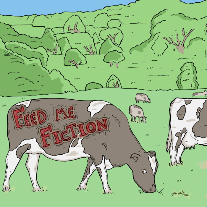 Feed Me Fiction EP cover art