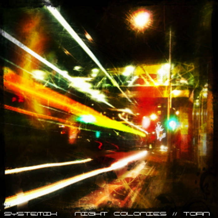 Night Colonies / Torn cover art