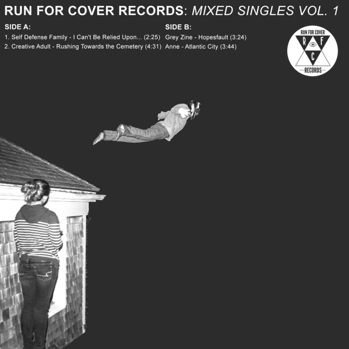 """Run For Cover Records - Mixed Singles Vol. 1 7"""" cover art"""