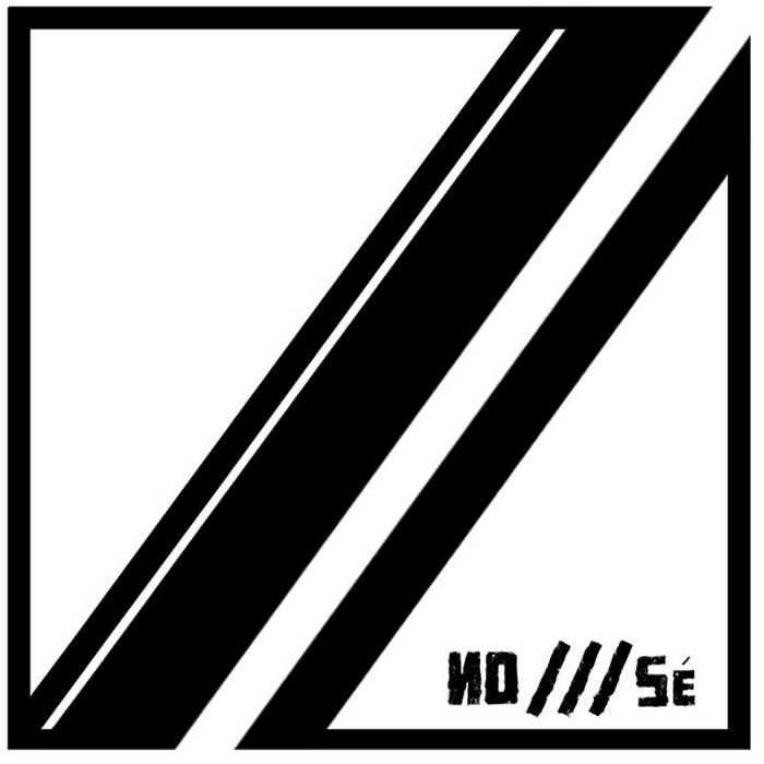 "ИO///sé - ""S/T"" LP (black vinyl) cover art"