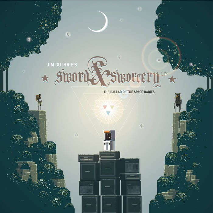 Sword & Sworcery LP - The Ballad of the Space Babies cover art