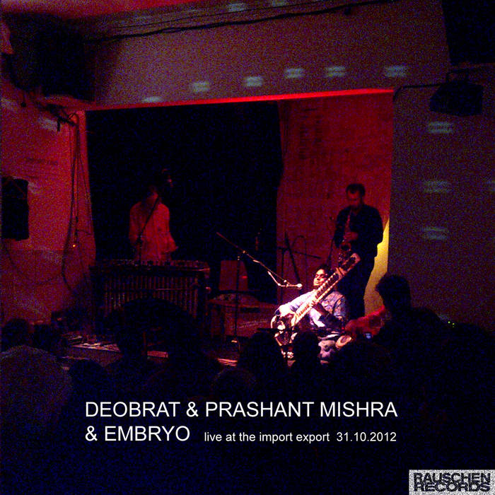 Live At The Import Export 31.10.2012 cover art