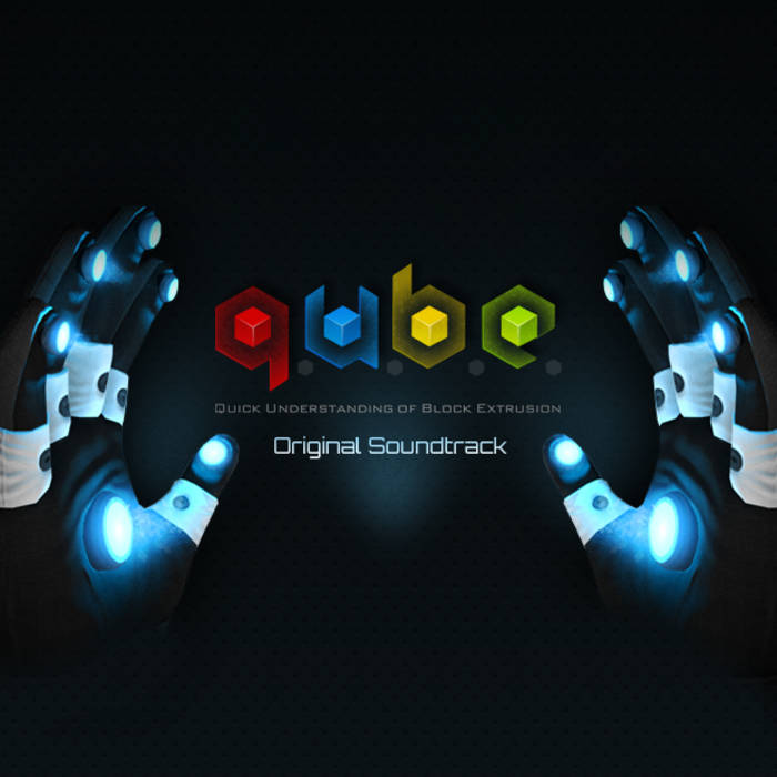 Q.U.B.E. Original Soundtrack cover art