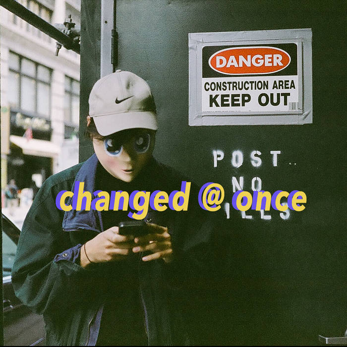 changed @ once cover art