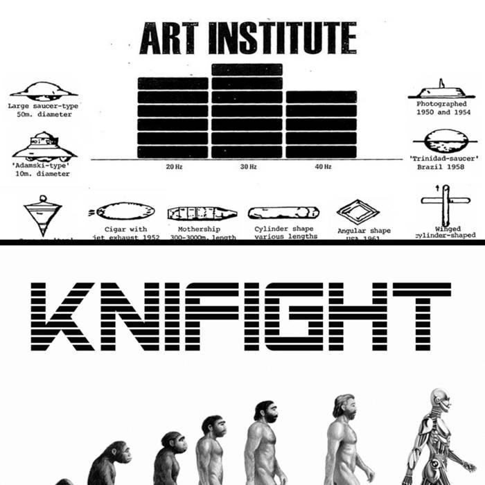 Art Institute / Knifight cover art