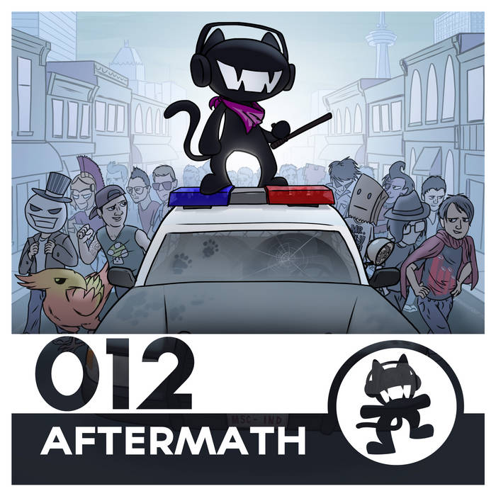 Monstercat 012 - Aftermath cover art