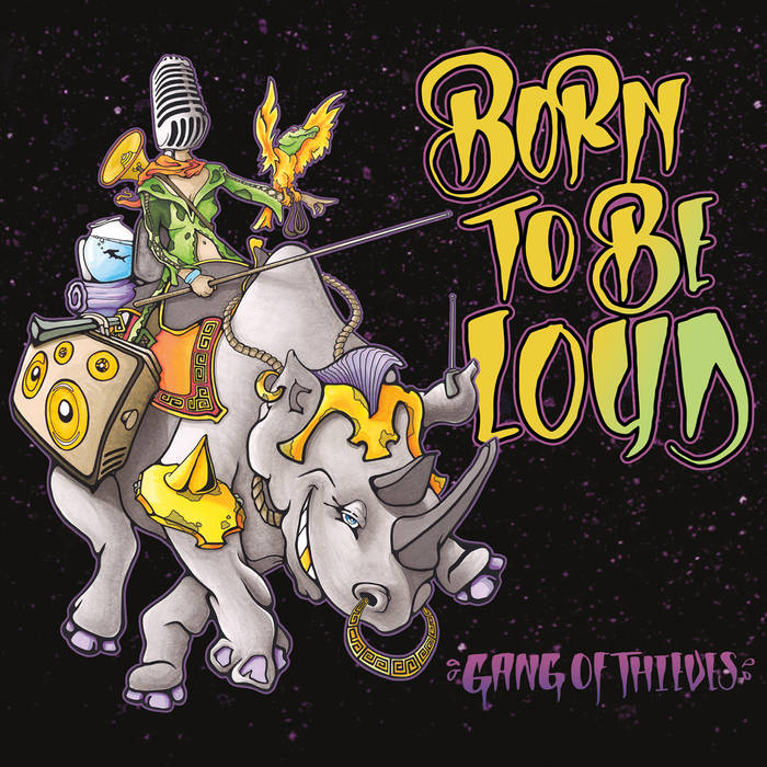 Born To Be Loud cover art