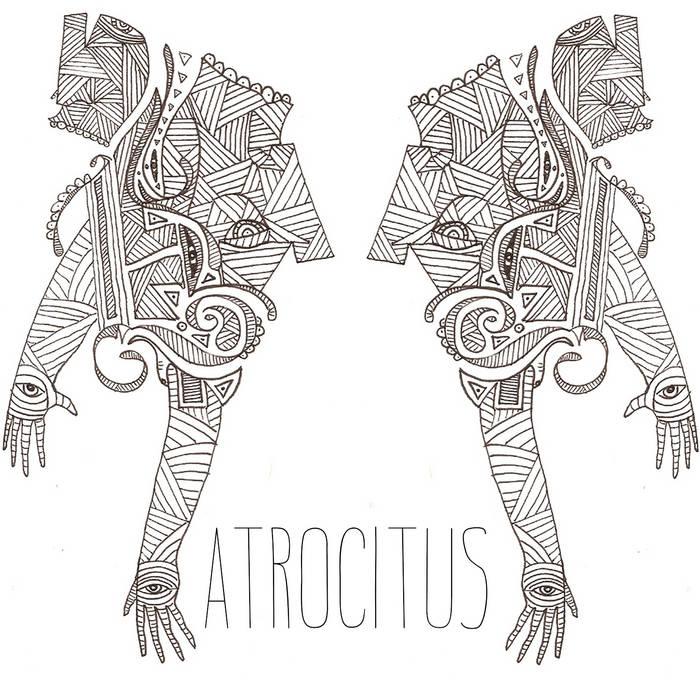 Atrocitus/Ex-Breathers Split cover art