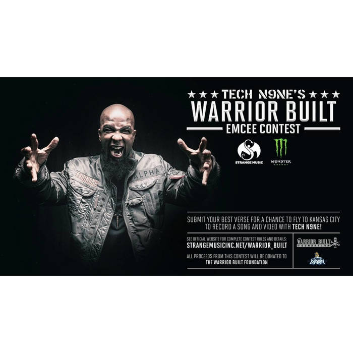 Dilz x Tech N9ne - PTSD (Warrior Built Emcee Contest Entry) cover art