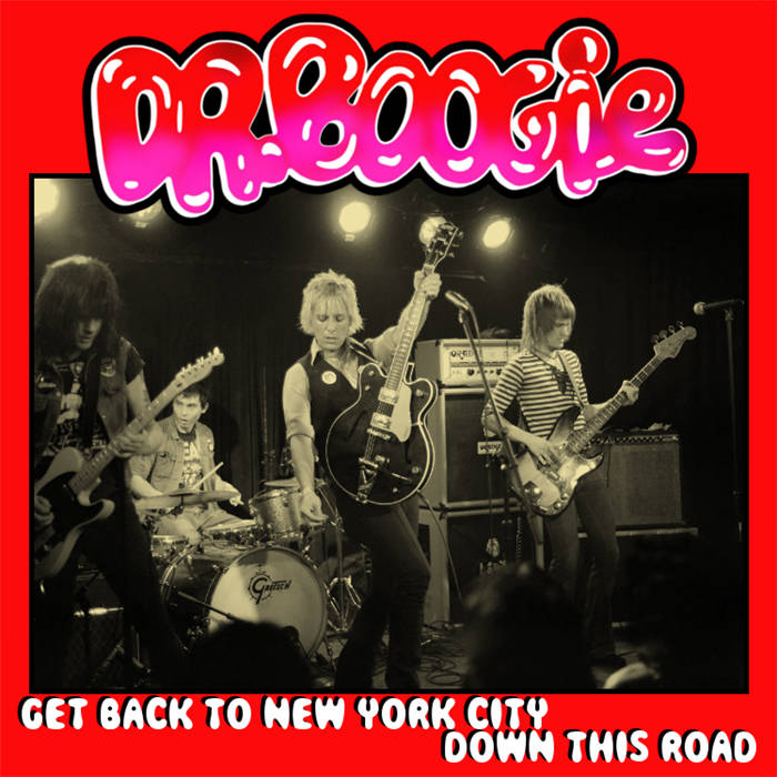 "Dr. Boogie - Get Back To New York City (single, 7"", WZ 012) cover art"