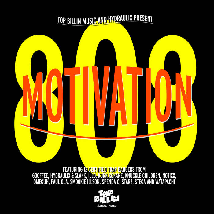 Motivation 808 cover art