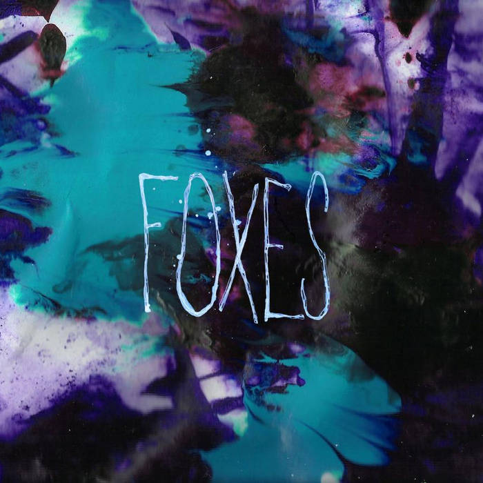 "DK026: Foxes - Foxes 12"" EP cover art"