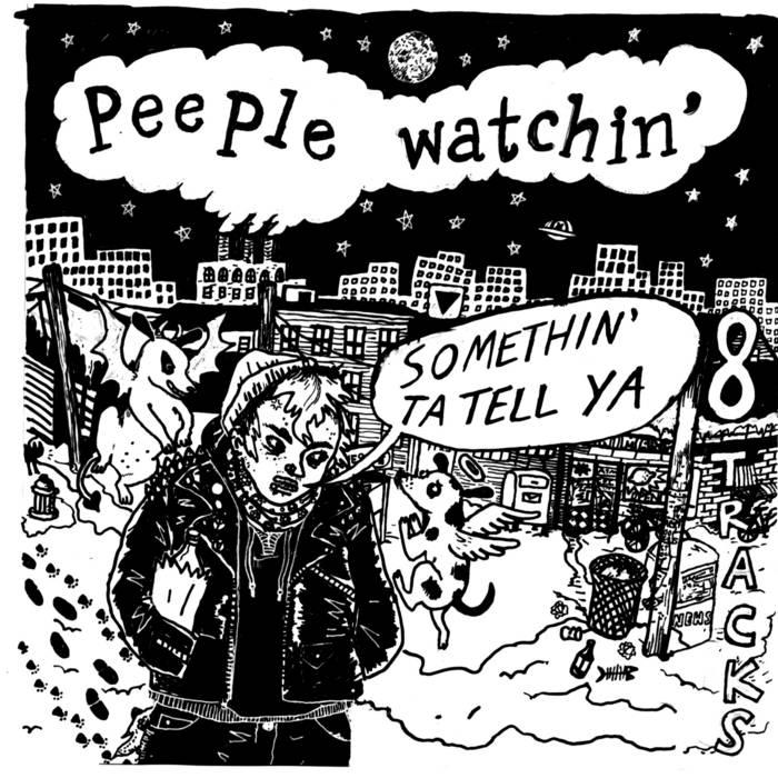 "Peeple Watchin' ""Somethin' To Tell Ya"" cover art"