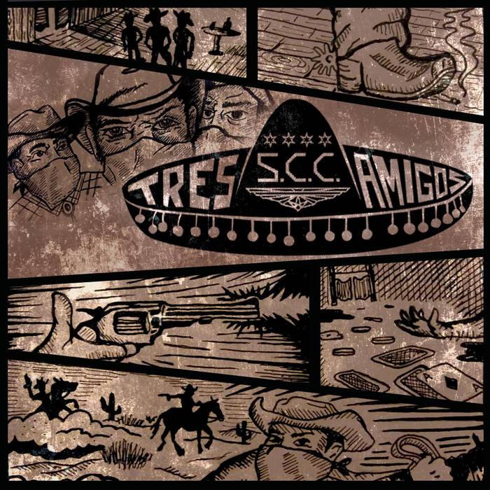 Tres Amigos cover art