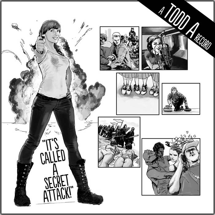 """""""It's Called A Secret Attack!"""" cover art"""