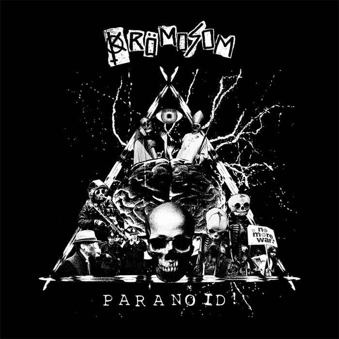 """KROMOSOM 'PARANOID' 7"""" ep cover art"""