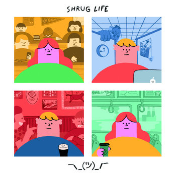 Image result for SHRUG LIFE