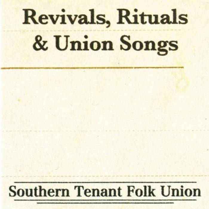 """Revivals, Ritual & Union Songs"" cover art"