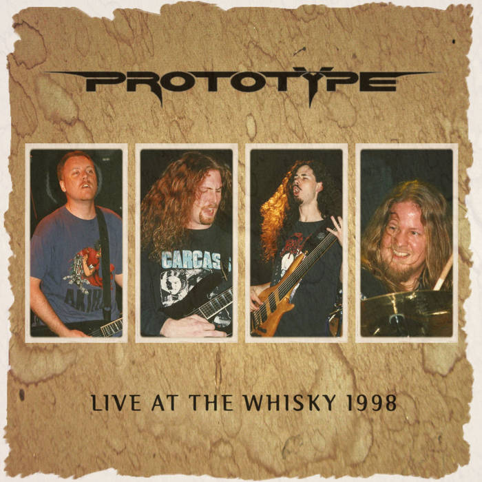 Live At The Whisky 1998 cover art